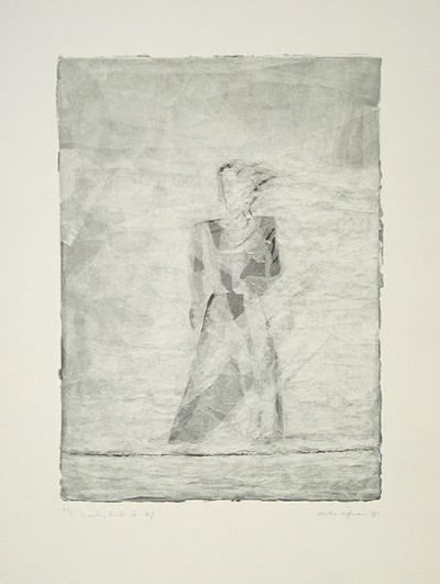 Draußen, hinter dem Riß-Martin Hoffmann-Collectable Print