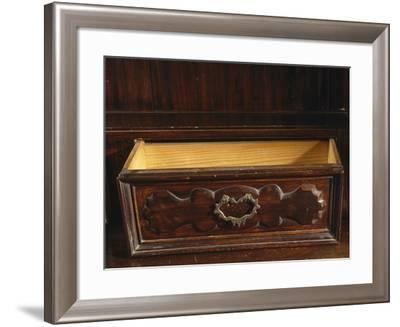 Drawer from Welsh Dresser Made from Walnut Of 17th Century Chest of Drawers from 1600--Framed Giclee Print