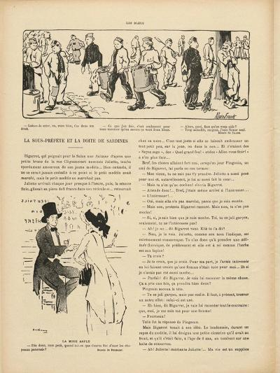 Drawing by Marcel Duchamp in 'Le Rire', 29 October 1910--Giclee Print