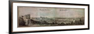 Drawing by the Bohemian Artist Vaclav Hollar (13/7/1607 - 25/3/1577)