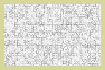Drawing Circles, 2017, Digital Drawing-Peter McClure-Giclee Print