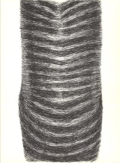 Drawing for a Torso II-Rodolphe Raoul Ubac-Art Print