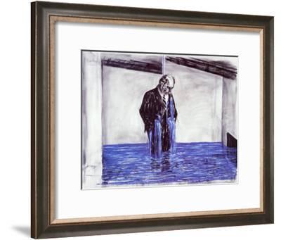 Drawing for Stereoscope, c.1998-99-William Kentridge-Framed Art Print