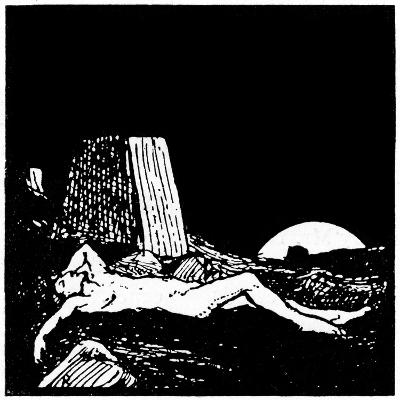 Drawing for the Book of Job, 1913-Robert Traill Rose-Giclee Print