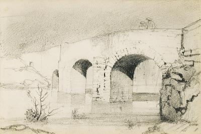 Drawing from an Album Titled 'The Basque Country', 1862-63-Odilon Redon-Giclee Print