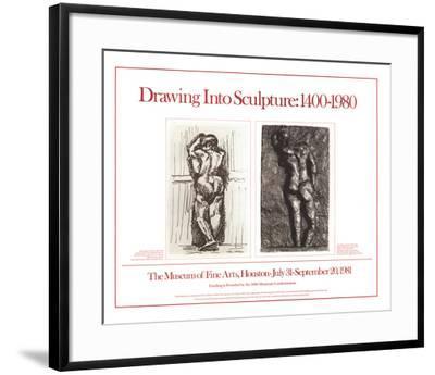 Drawing Into Sculpture: 1400-1980-Henri Matisse-Framed Premium Edition