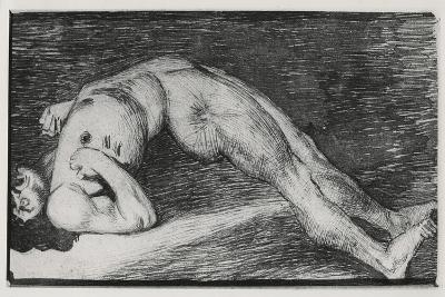 Drawing of an Epileptic Seizure--Giclee Print