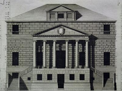 Drawing of Villa Foscari--Giclee Print