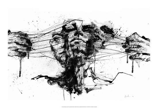 Drawing Restraints-Agnes Cecile-Art Print