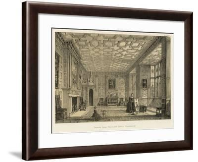 Drawing Room, Broughton Castle, Oxfordshire-Joseph Nash-Framed Giclee Print