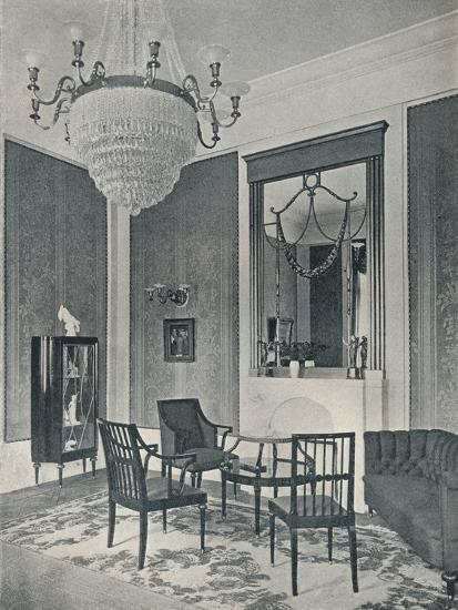 'Drawing-Room', c1911-Unknown-Photographic Print
