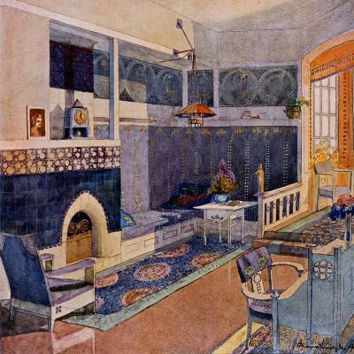 Drawing Room, Early C20th--Giclee Print