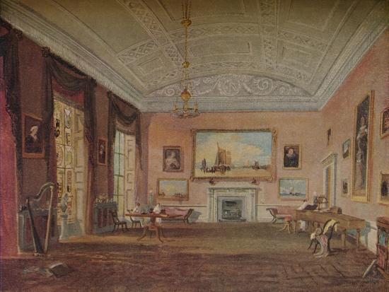 'Drawing Room, Farnley', 1818-JMW Turner-Giclee Print