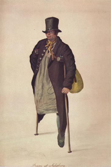 'Drawn at Salisbury', c1800-George Scharf-Giclee Print