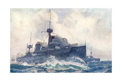 Dreadnought at Speed--Giclee Print