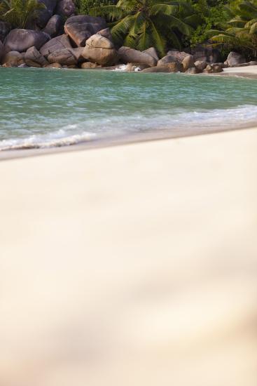 Dream Beach, Indian Ocean, Seychelles, Sand, Water, Granite Rocks-Harry Marx-Photographic Print