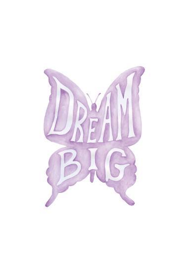 Dream Big Butterfly-Pam Varacek-Art Print