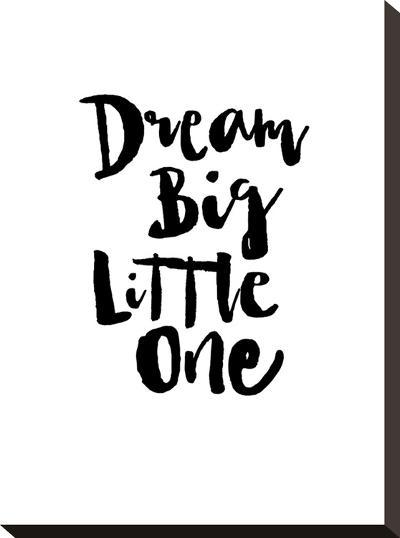 Dream Big Little One-Brett Wilson-Stretched Canvas Print