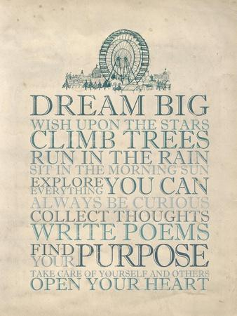 Dream Big-Morgan Yamada-Art Print
