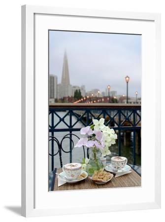 Dream Cafe Broadway Pier #21-Alan Blaustein-Framed Photographic Print