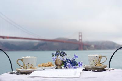 Dream Cafe Golden Gate Bridge #54-Alan Blaustein-Photographic Print