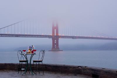 Dream Cafe Golden Gate Bridge #56-Alan Blaustein-Photographic Print