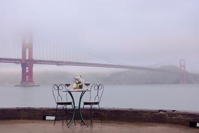 Dream Cafe Golden Gate Bridge #58-Alan Blaustein-Photographic Print