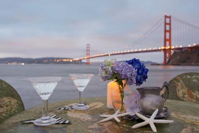 Dream Cafe Golden Gate Bridge #62-Alan Blaustein-Photographic Print