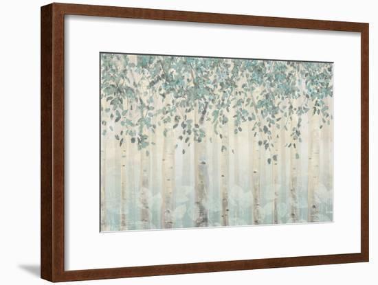 Dream Forest I Silver Leaves-James Wiens-Framed Art Print