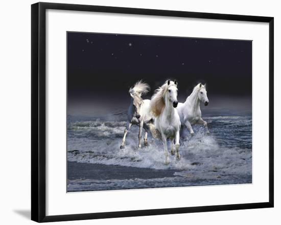 Dream Horses 029-Bob Langrish-Framed Photographic Print