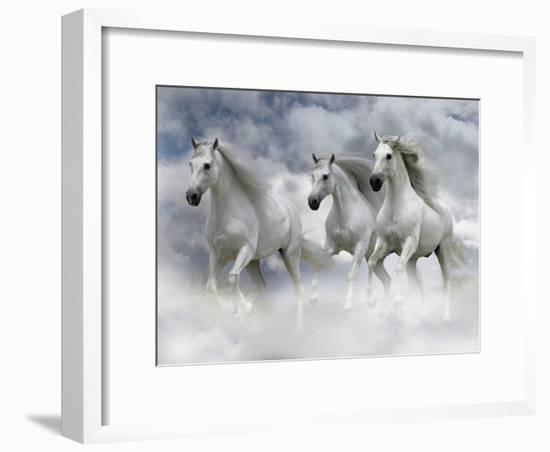 Dream Horses 087-Bob Langrish-Framed Photographic Print