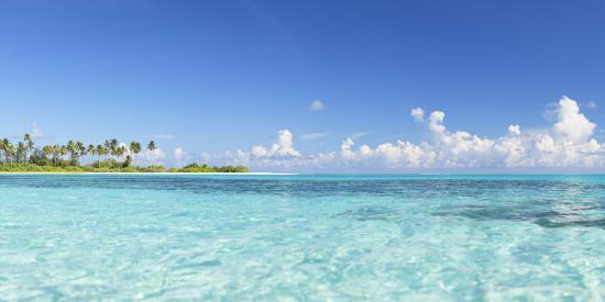 Dream Island at Olhuveli Beach and Spa Resort, South Male Atoll, Kaafu Atoll, Maldives (PR)-Ian Trower-Photographic Print