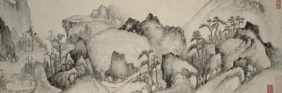 Dream Journey to Rivers and Mountains, Qing Dynasty (1644-1912), C.1655- Cheng Zhengkui-Giclee Print