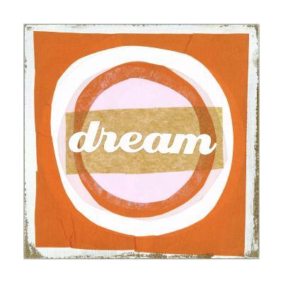Dream Lettering on Circles--Art Print