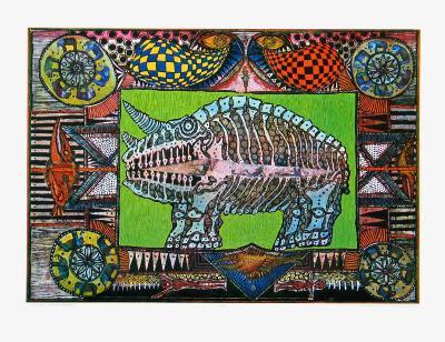 Dream of the Rhino, c.1970-J?rg Schulthess-Collectable Print