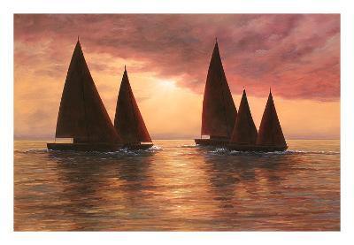 Dream Sails-Diane Romanello-Art Print