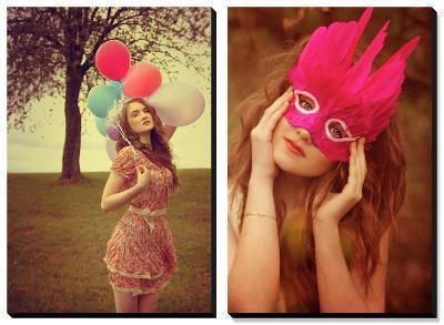 Dreamchaser, Dreams are Like Balloons-Nadja Berberovic-Canvas Art Set