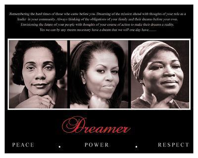 Dreamer (Trio): Peace, Power, Respect--Art Print