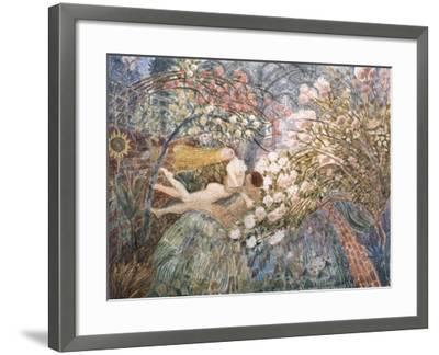 Dreaming, 1990-Ian Bliss-Framed Giclee Print