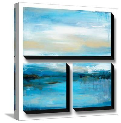 Dreaming Blue I-Wani Pasion-Stretched Canvas Print