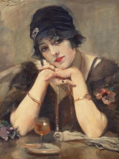 Dreaming, Circa 1920s-Jean Léon Henri Gouweloos-Giclee Print