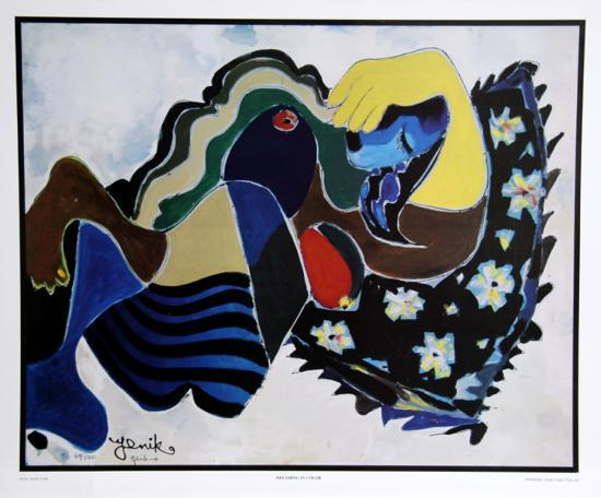 Dreaming in Color-Jenik Cook-Collectable Print