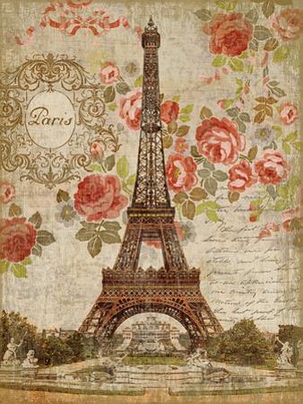 Dreaming of Paris Wood Sign