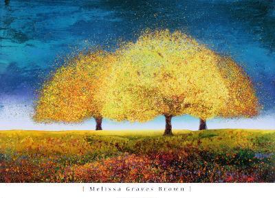 Dreaming Trio-Melissa Graves-Brown-Art Print