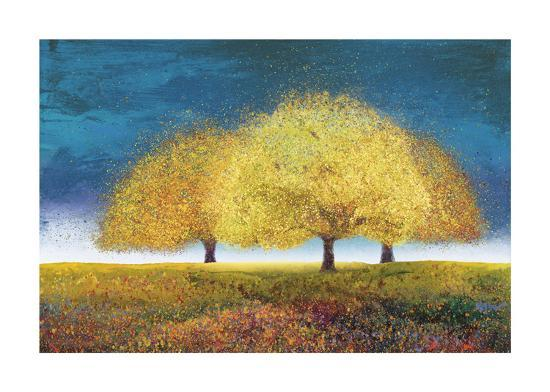 Dreaming Trio-Melissa Graves-Brown-Giclee Print