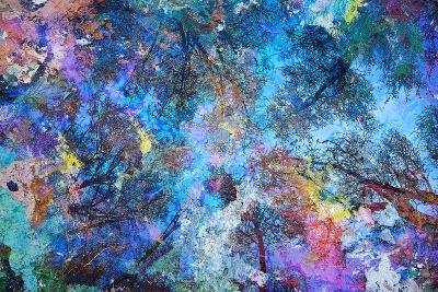 Dreaming up to the Trees-Michael Broom-Art Print