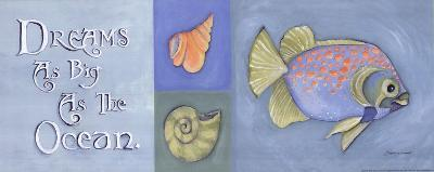 Dreams As Big As The Ocean-Stephanie Marrott-Art Print