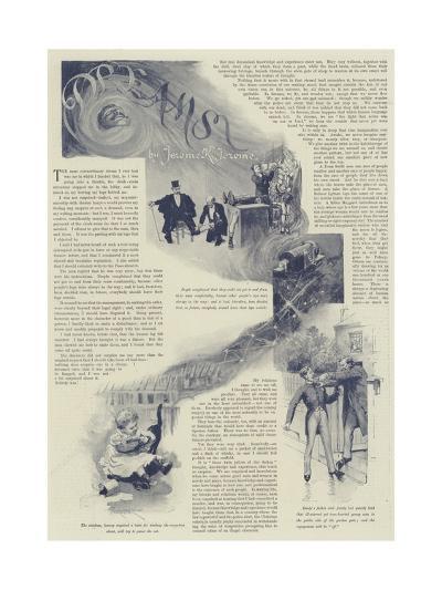Dreams, by Jerome K Jerome-Amedee Forestier-Giclee Print