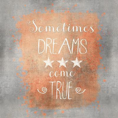 Dreams Come True - Square-Lebens Art-Art Print