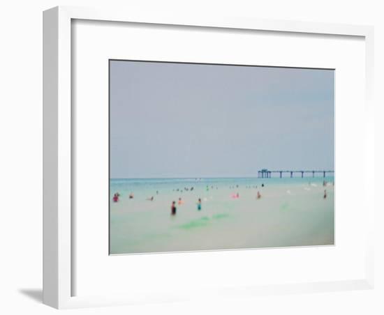 Dreams of The Gulf Coast-Myan Soffia-Framed Art Print